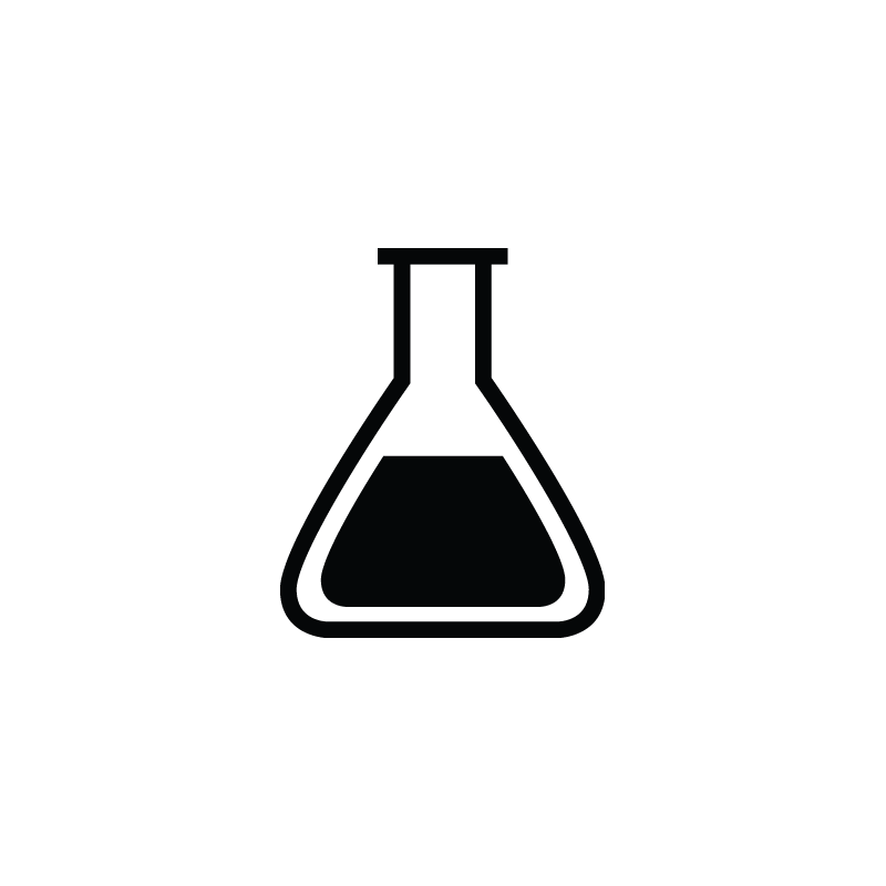 Flask vector. Biology lab tube research