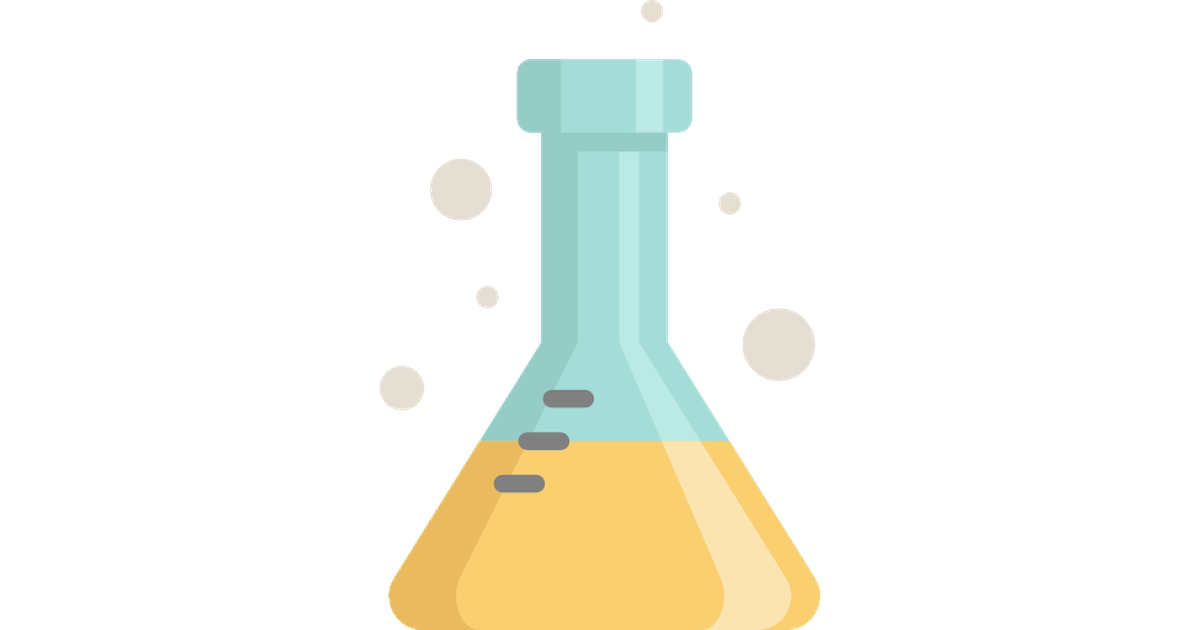 Vector laboratory flask. Free icons designed by