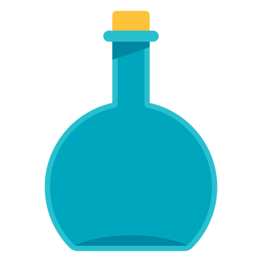 Flask vector different. Medical round icon transparent
