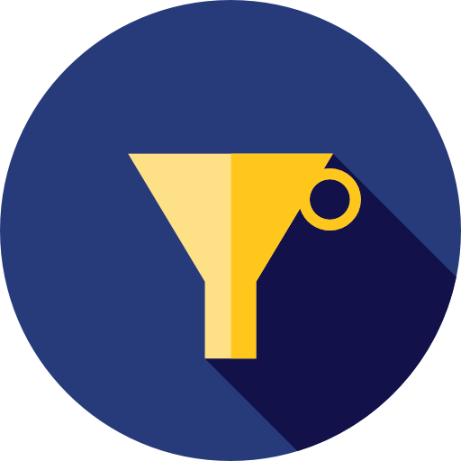 Flat funnel icon png. Svg