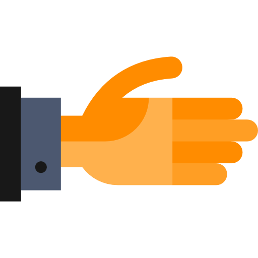 Flat hand png. Shake hands icon svg