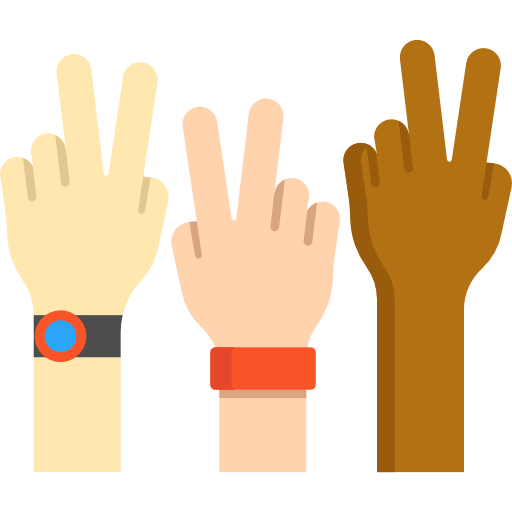 Flat hand png. Hands and gestures icon