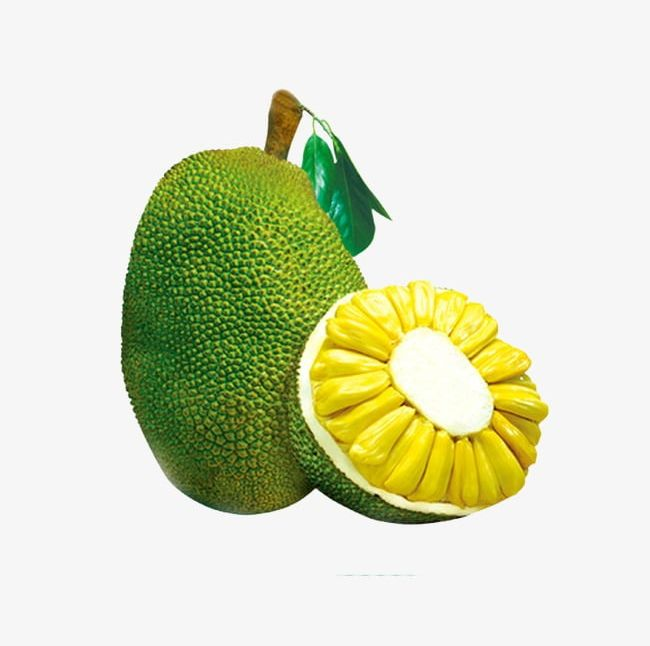 Yellow jackfruit