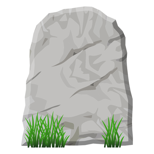 Flat stone png. Transparent svg vector tombstone