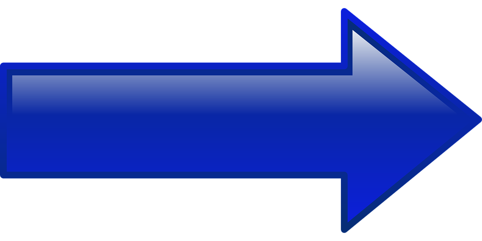 Flechas azules png. Image
