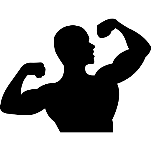 Flexing arms png. Male gymnast free people