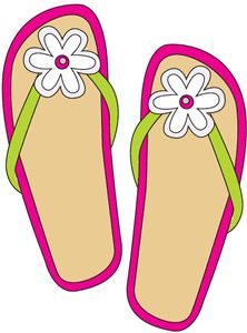 Freeclip art flip flop. Slippers clipart sandles clip art transparent library