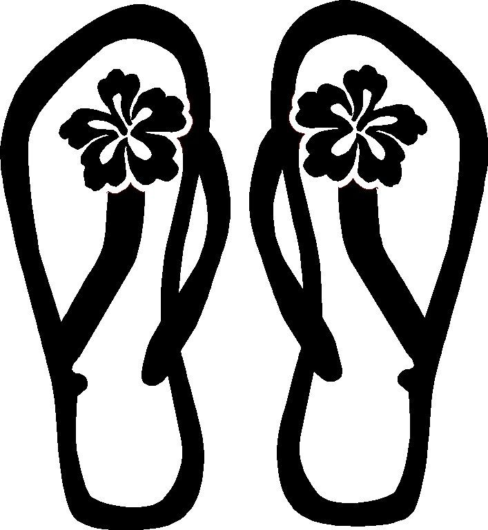 Flip Flop Drawing Transparent Clipart Free Download