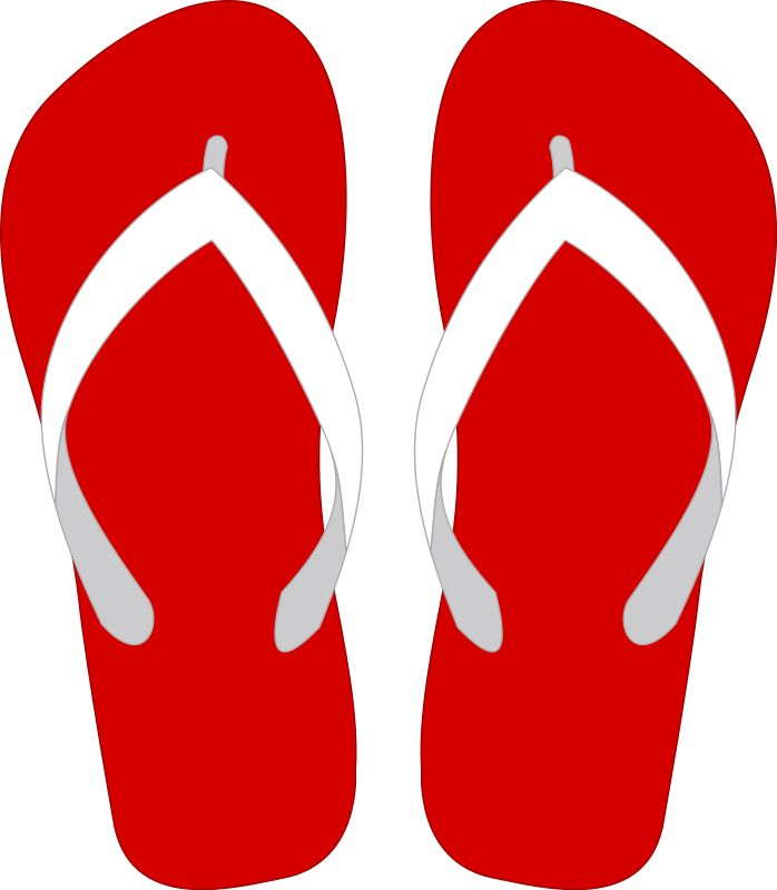 Flip flops clipart girl sandal. Best ideas on pinterest