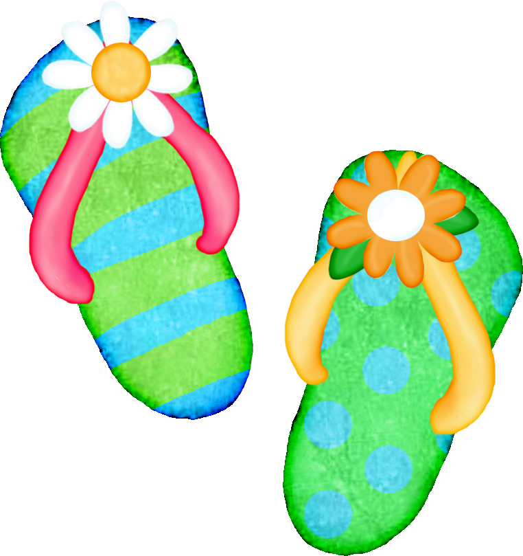 sandals clipart flower