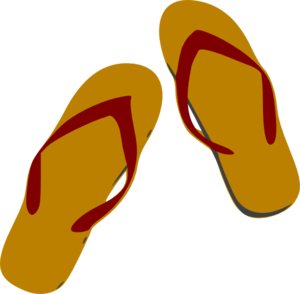 Flip flops clipart girl sandal. Free strappy sandals cliparts