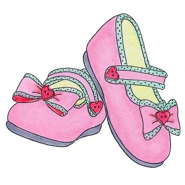 Flip flops clipart girl sandal. Baby shoes rubber