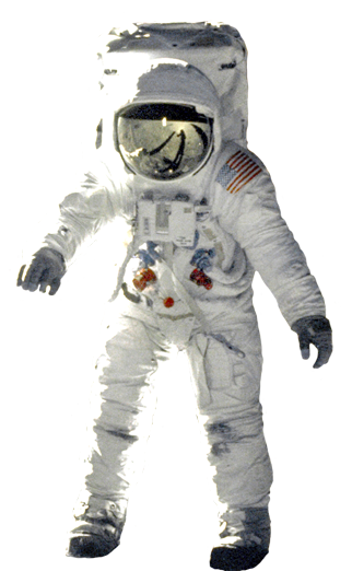 Floating astronaut png. Space clip art landed