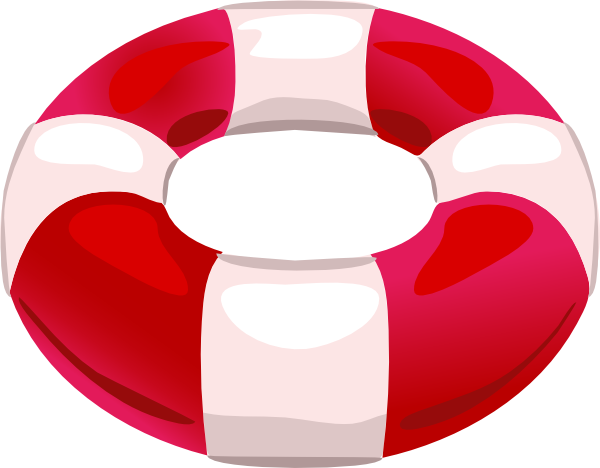 Floating drawing life buoy. Free lifeguard float cliparts