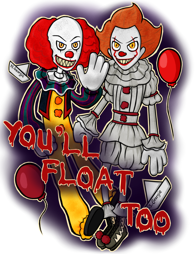 Floating drawing pennywise. You ll float too