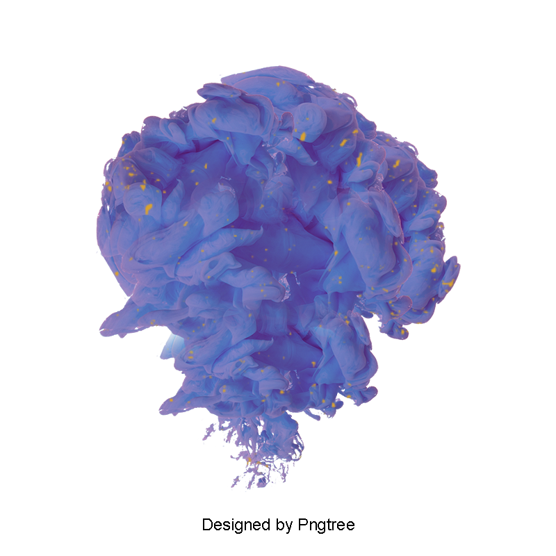 Floating feathers png. Blue smoke graphic design