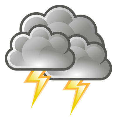 Lightning clipart stormcloud. Free cliparts bad weather
