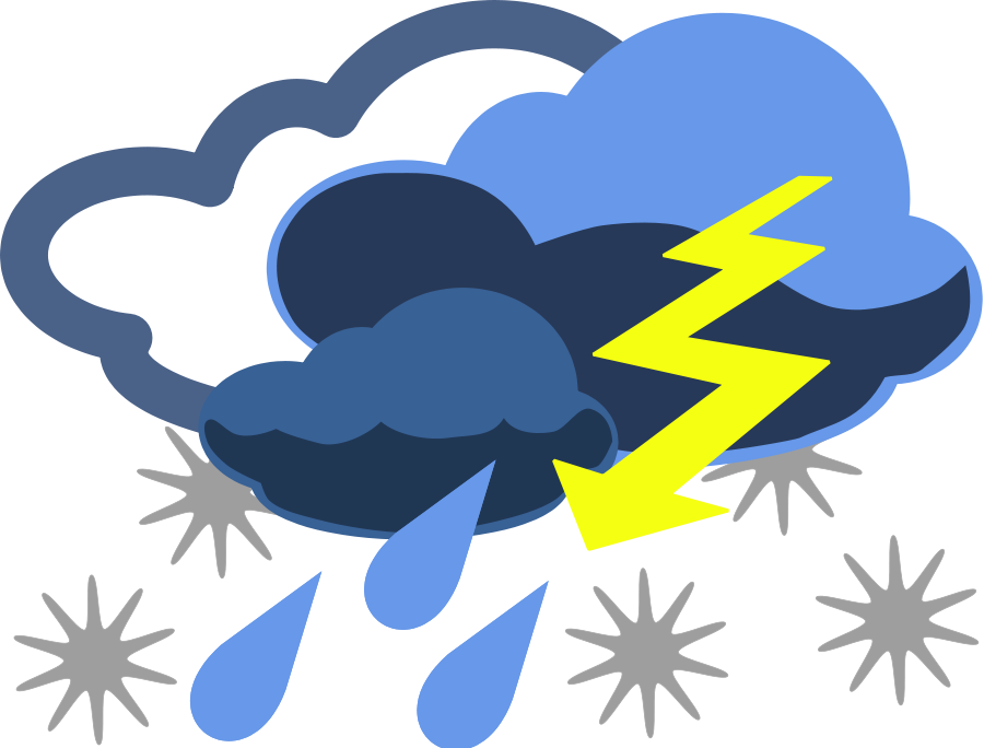 Weather clipart different weather. Free images for kids