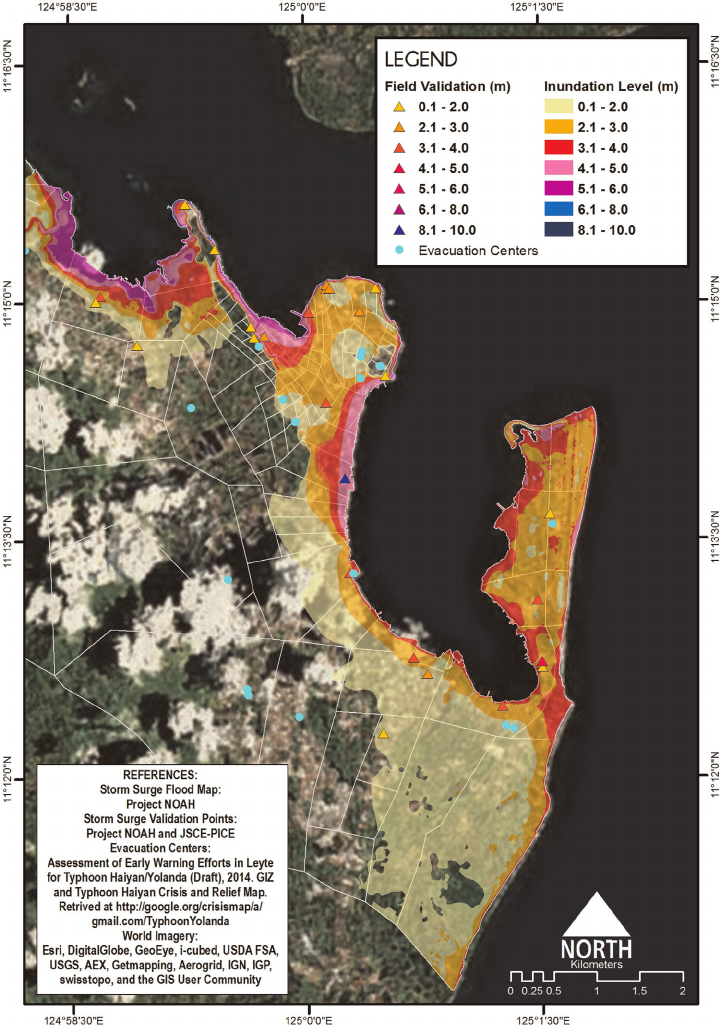 Flood clipart storm surge. And tide inundation map
