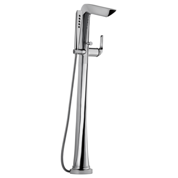 floor mounted tub faucet png