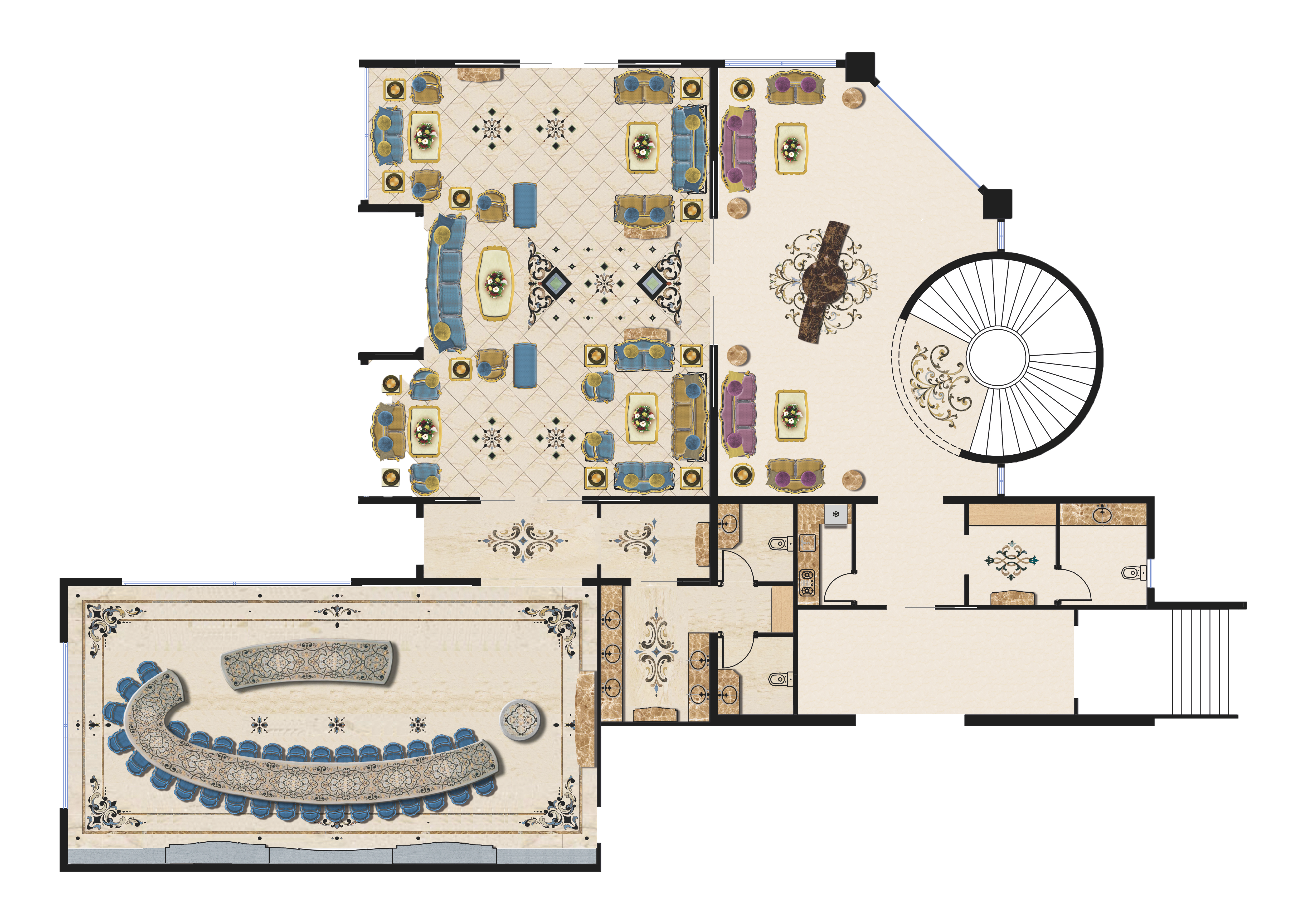 Floor plan furniture png. Palace feature interior consultancy
