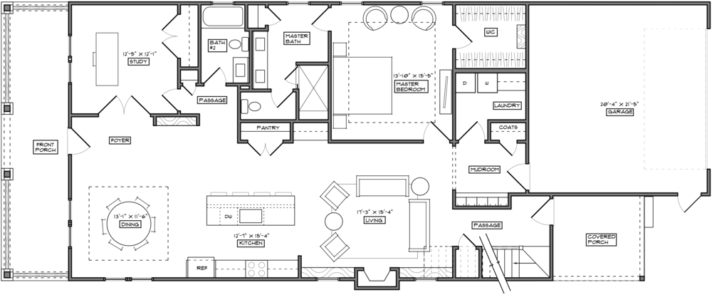 Floor plan furniture png. The walk at east
