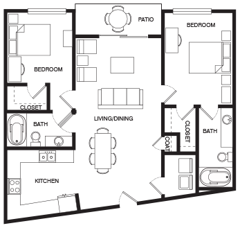 Floor plans png. Open for students living