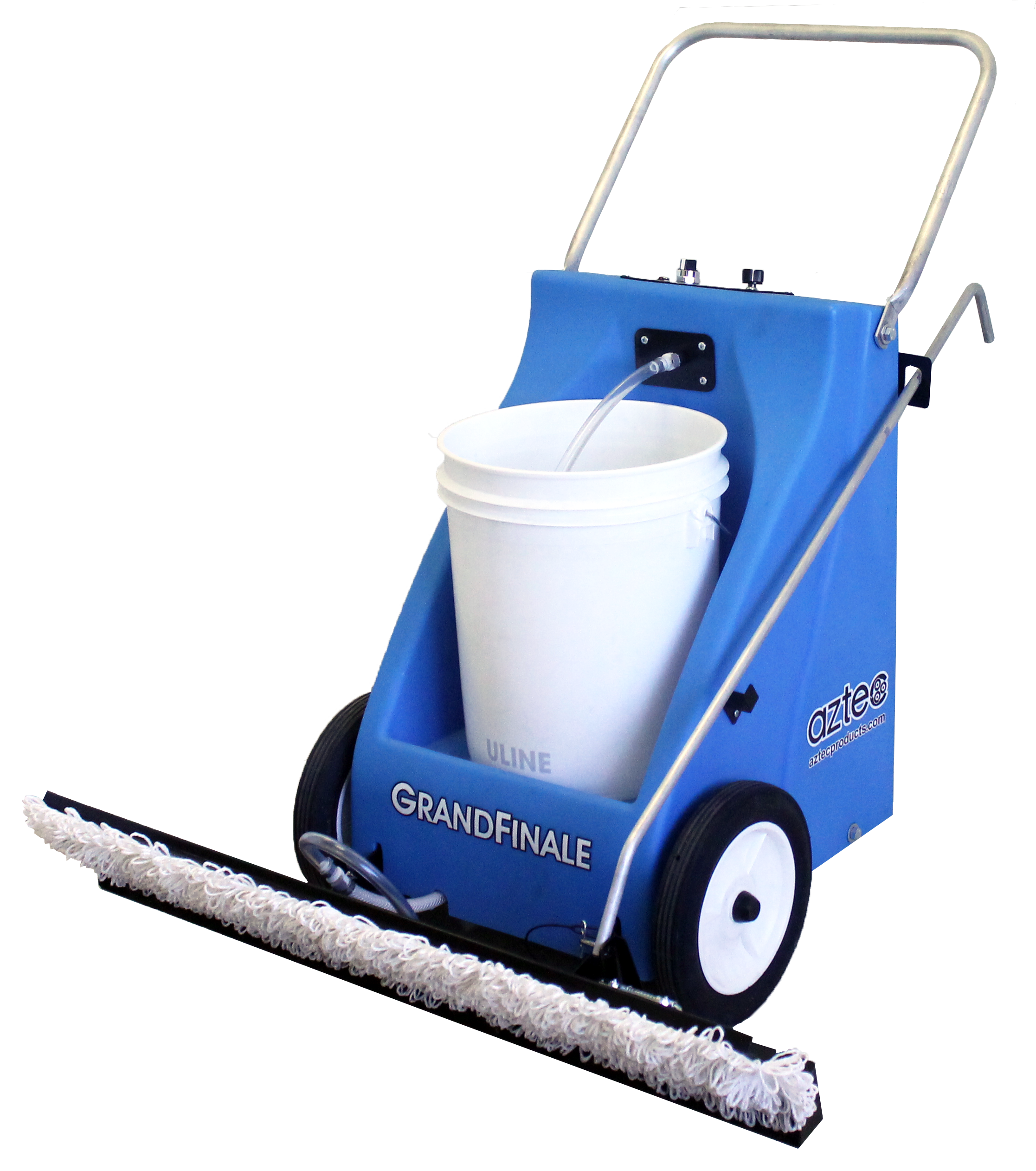 Floor waxing machine png. Aztec products finish applicator