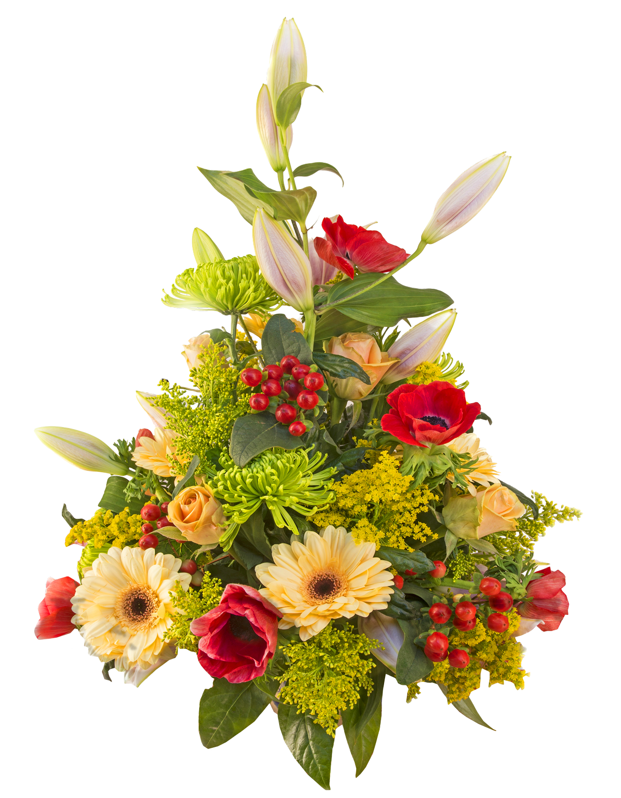 Floral bouquet png. Flower image purepng free