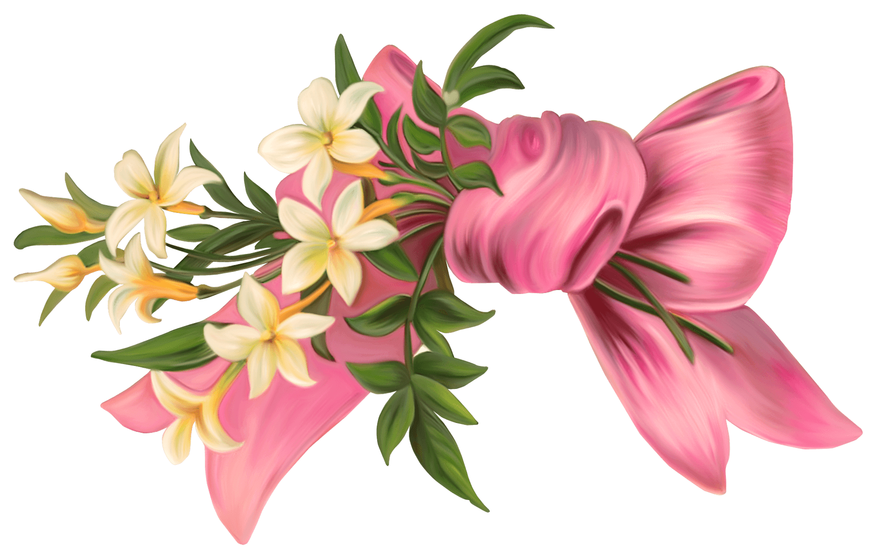 Floral bouquet png. Art nouveau flowers transparent
