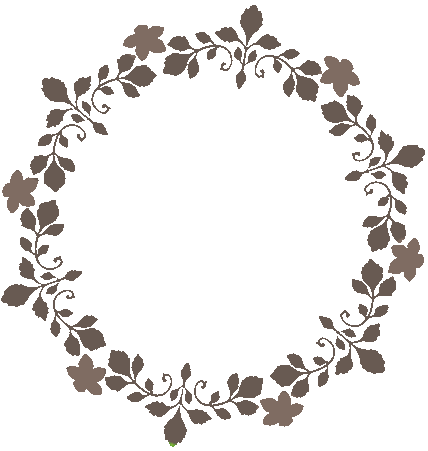 Floral circle png. Gif by pixipickel on