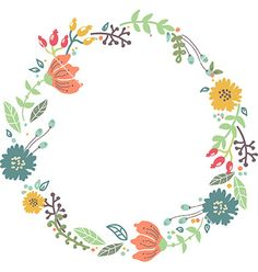 Floral clipart circle. Craftberry bush free watercolor