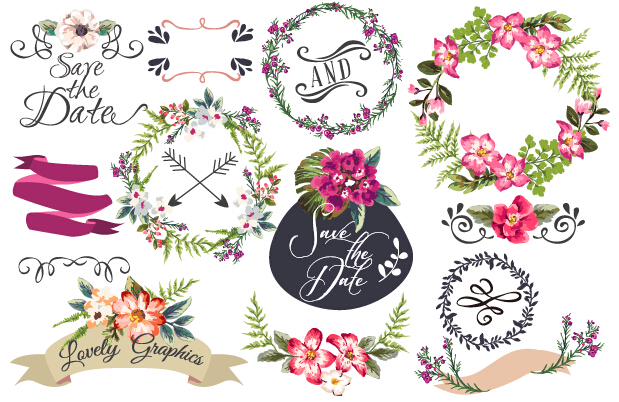 Floral clipart hand drawn. Free drawing flowers at