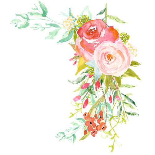 Floral clipart succulent. Brightly ever after flower