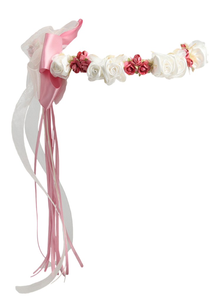 girls transparent flower crown