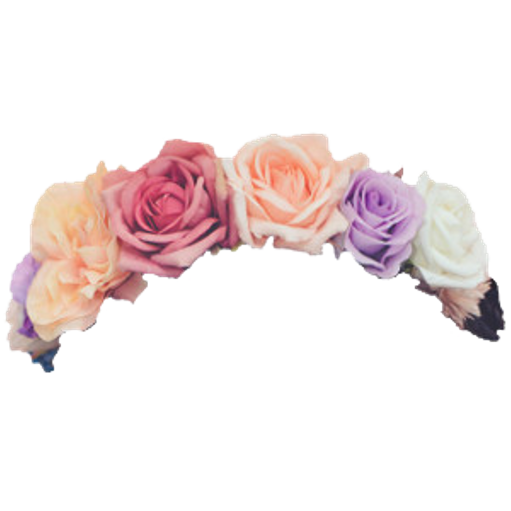 Floral crown png. Flowers flower crowns roses