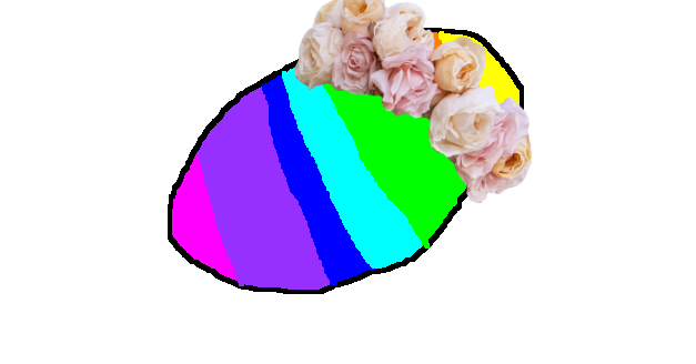 Floral crown png. Image potato flower animal