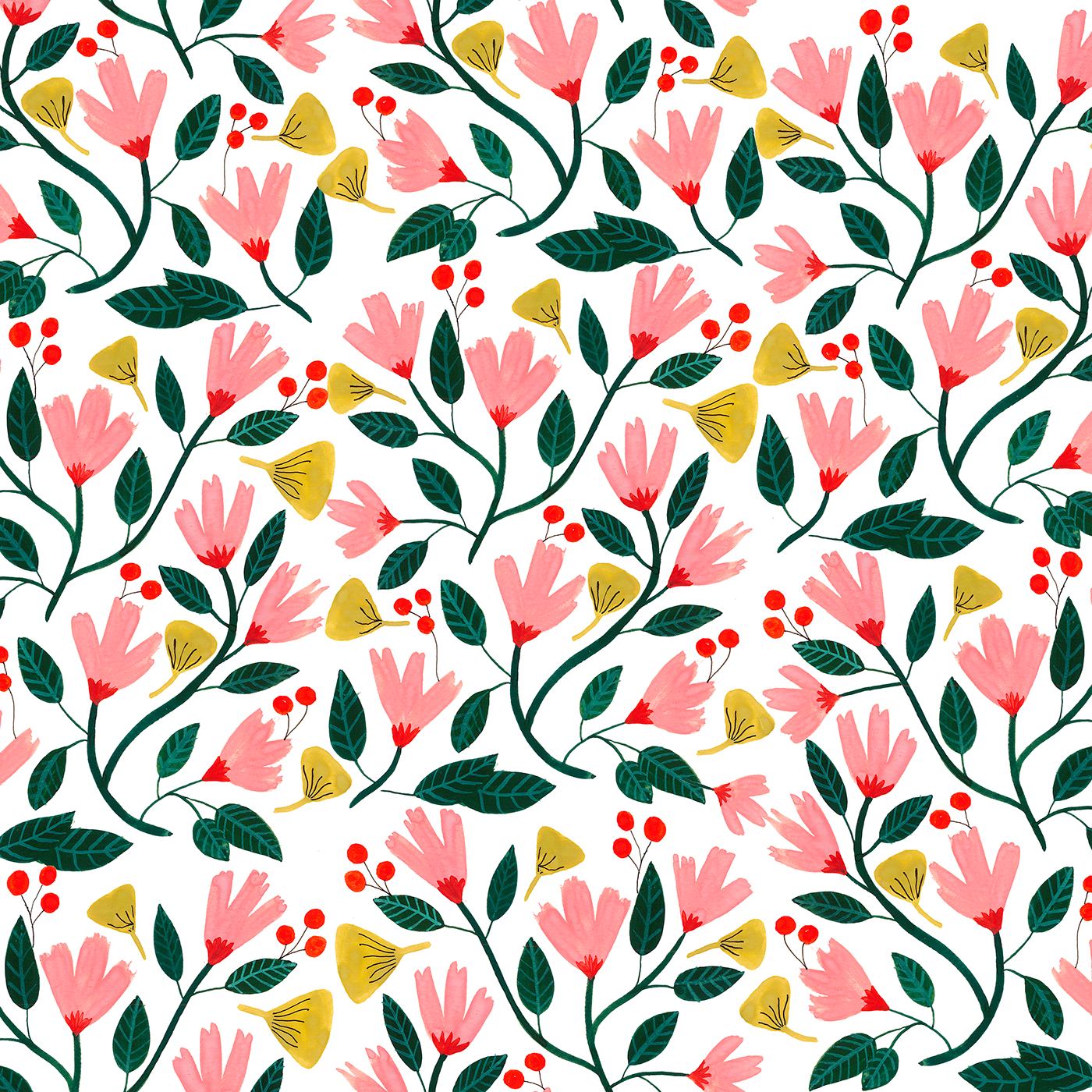 Floral pattern png. On behance thank you