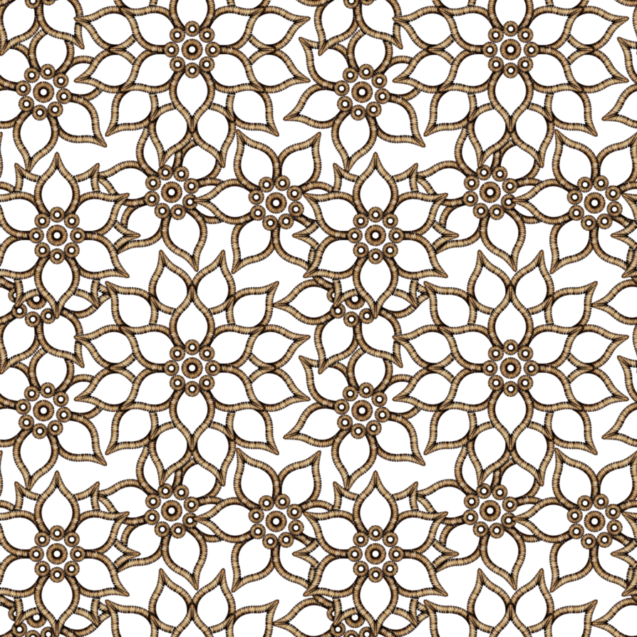 Floral pattern png. Gold by yagellonica on