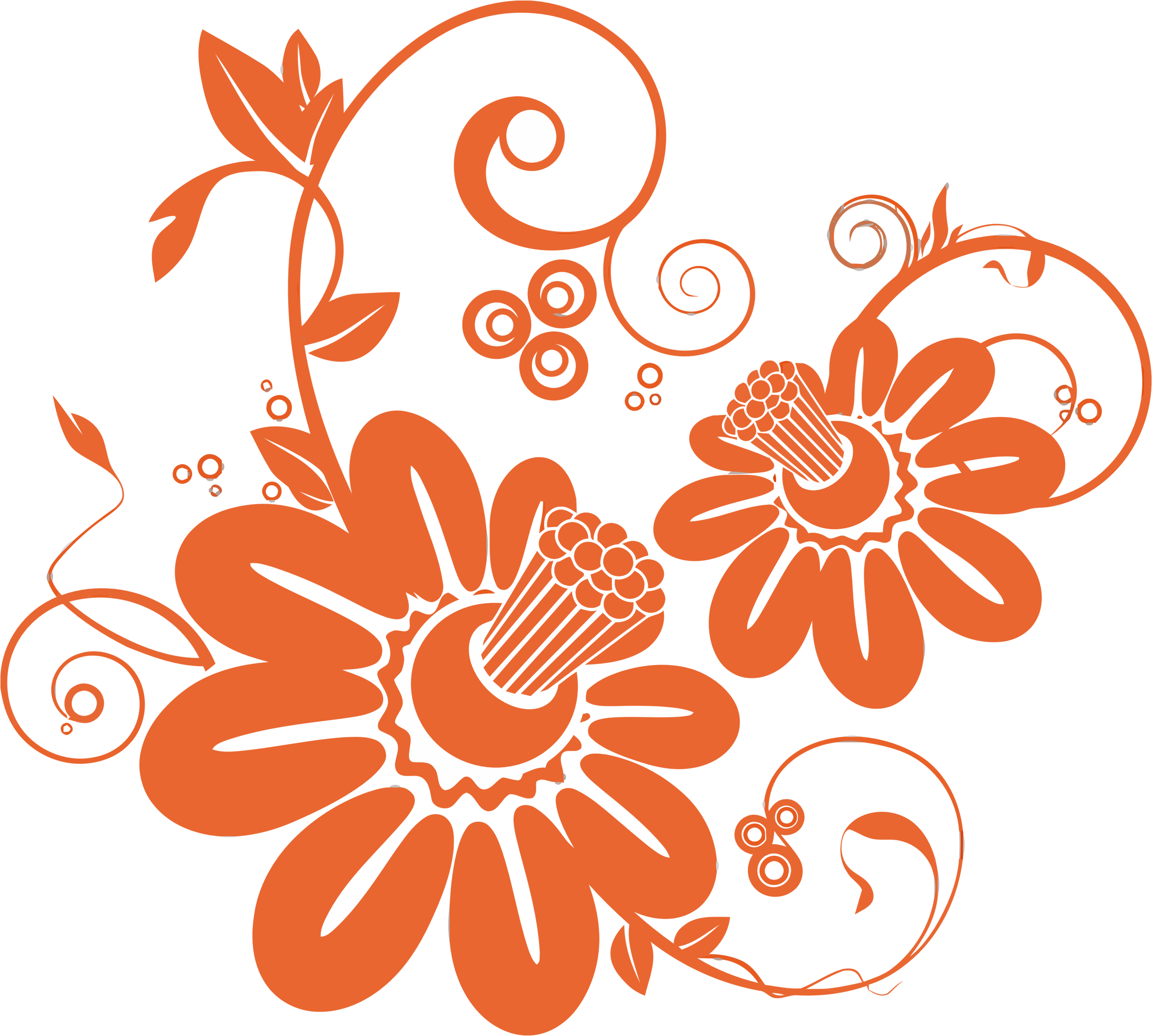 Floral pattern png transparent. Abstract icons free and