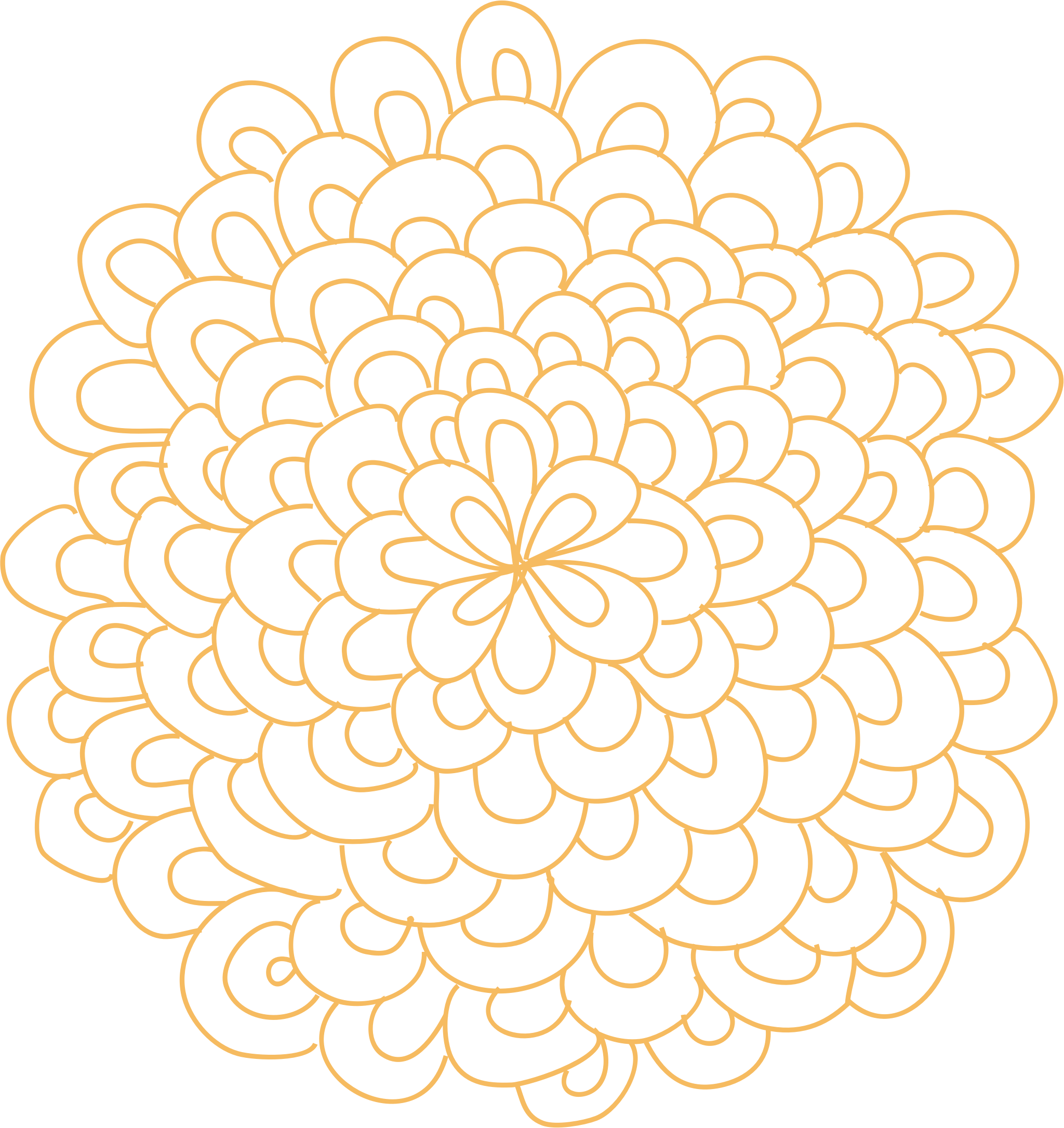 Floral patterns png. Clipart rosette flower big