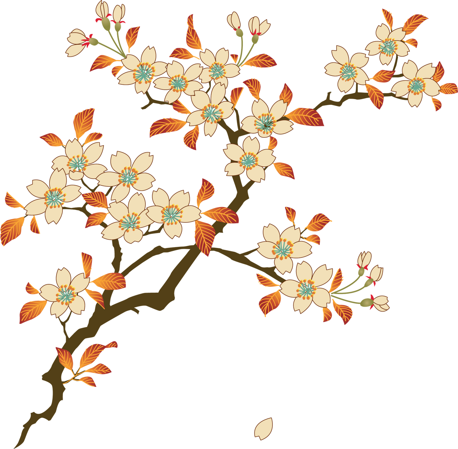 Photos mart. Floral png vector royalty free library
