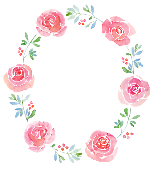 Watercolor flower wreath png. Free premium stock photos
