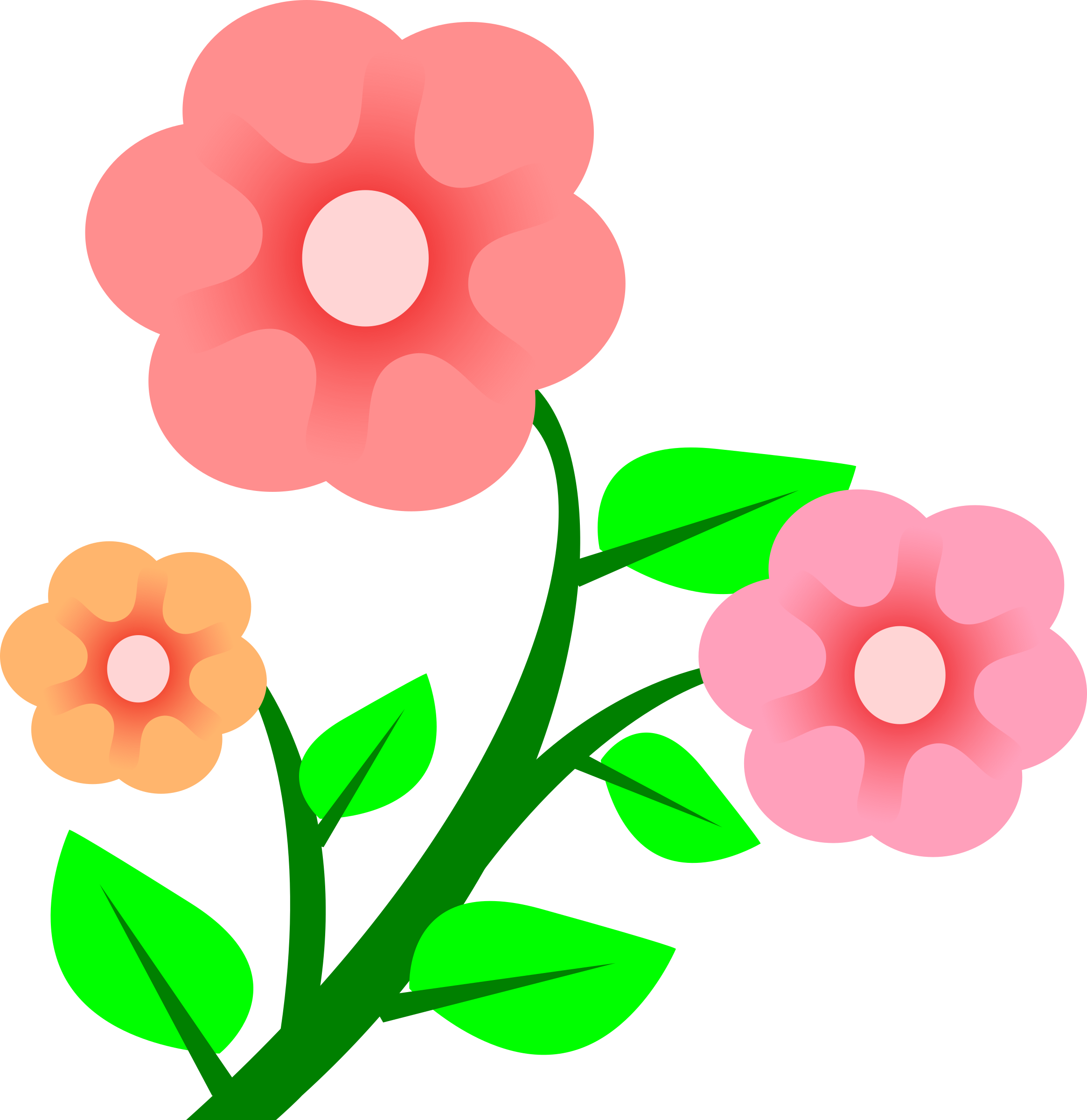 Flores cartoon png. Flower clipart at getdrawings