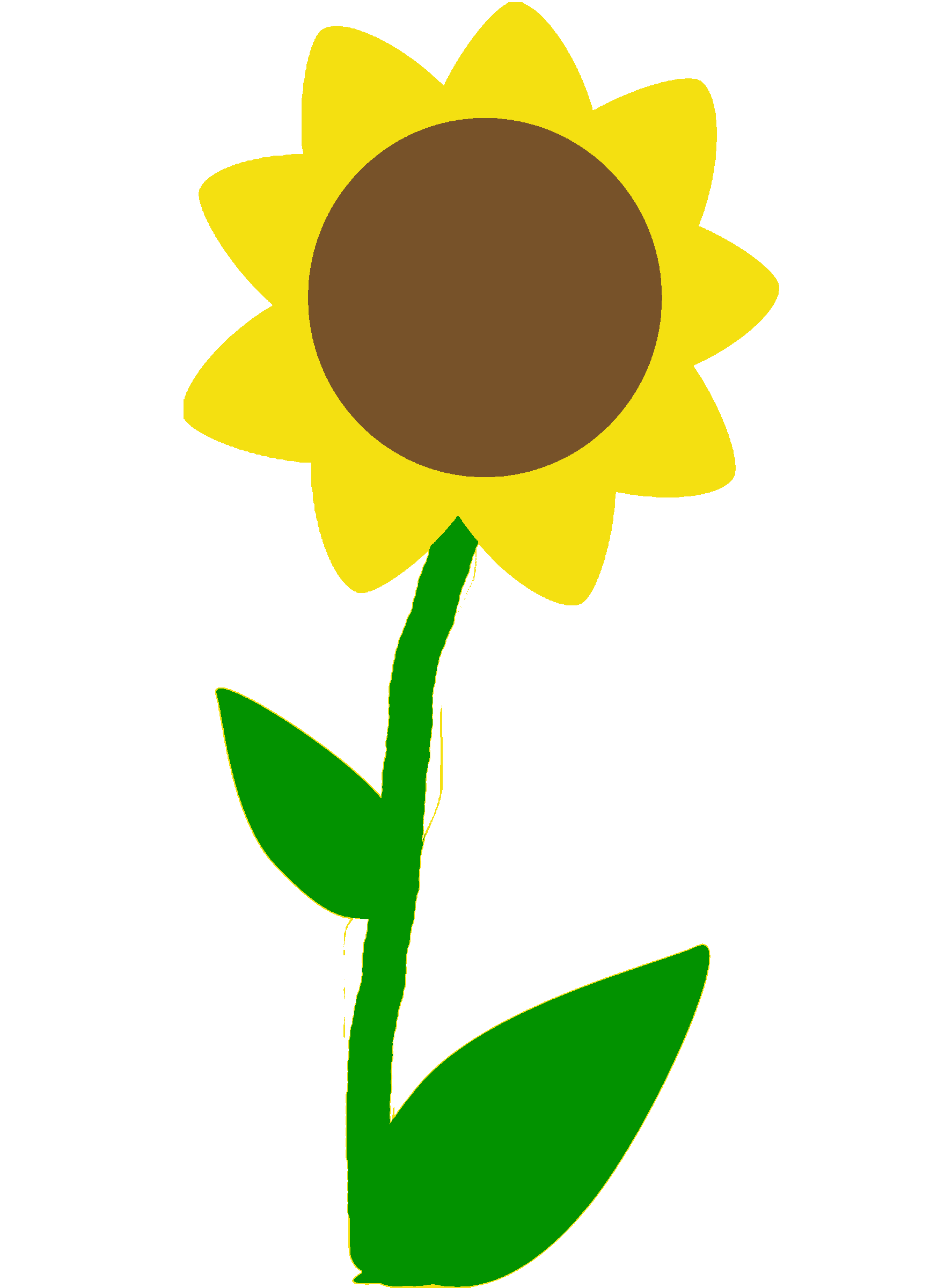 Flores Dibujos A Color Transparent Png Clipart Free Download Ya