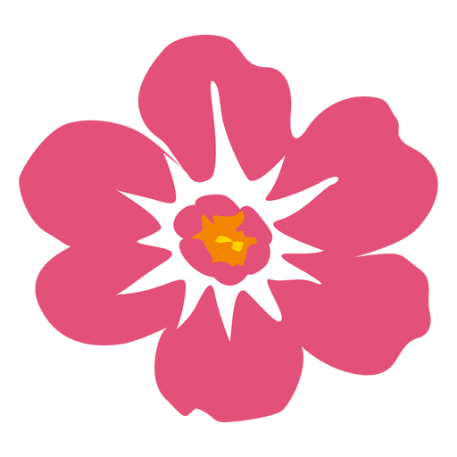 Pink hawaiian flower transparent. Flores png vector svg black and white