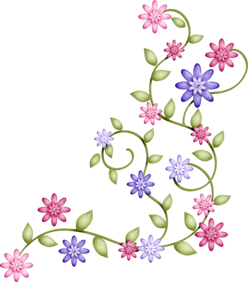 Flower power alphabet clip. Flores png svg royalty free library