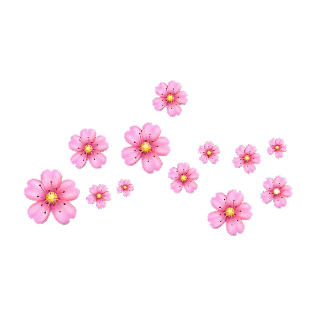 Emoji flower flowers flor. Flores rosas png clipart royalty free stock