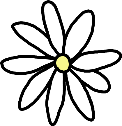 Flores tumblr png. Download daisy stickers image