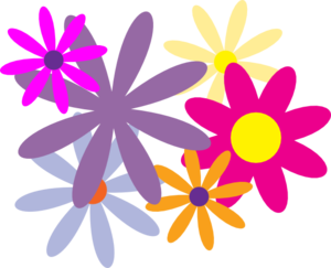 Clip art at clker. Flores vector png png freeuse library